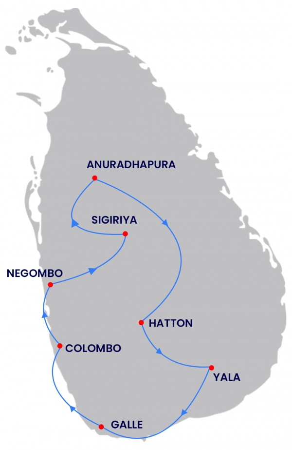 Package Route Map